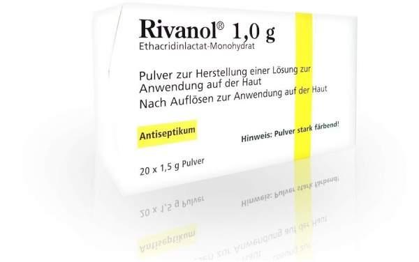 Rivanol 1,0 G Pulver 20 Stück