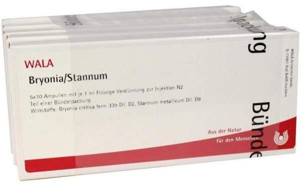 Bryonia Stannum Ampullen 50 X 1 ml