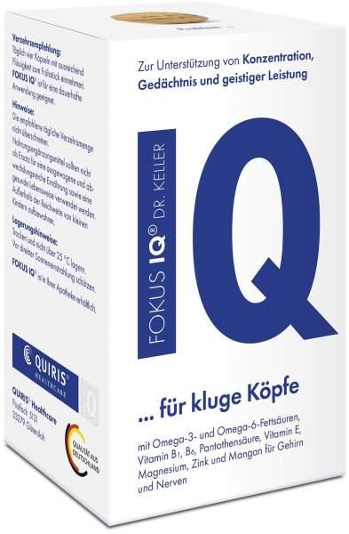 Fokus IQ Dr. Keller 120 Kapseln