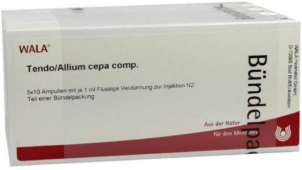 Tendo Allium Cepa Comp. Ampullen 50 X 1 ml