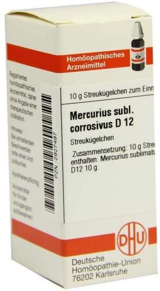 Mercurius Subl. Corr. D 12 Globuli