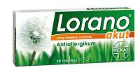 Lorano akut Antiallergikum 14 Tabletten