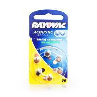 Rayovac Hörgerätebatterien 10 gelb