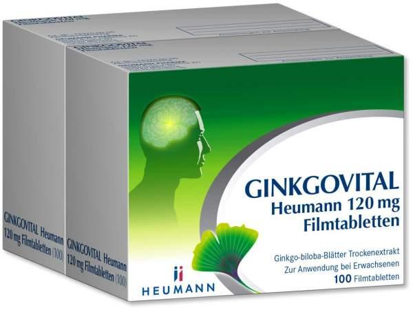 Ginkgovital Heumann 120 mg 200 Filmtabletten