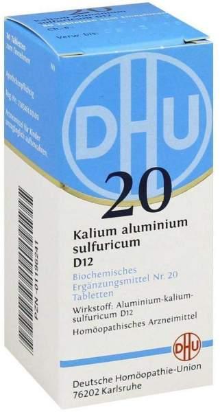 Biochemie Dhu 20 Kalium Aluminium Sulfuricum D12 80 Tabletten