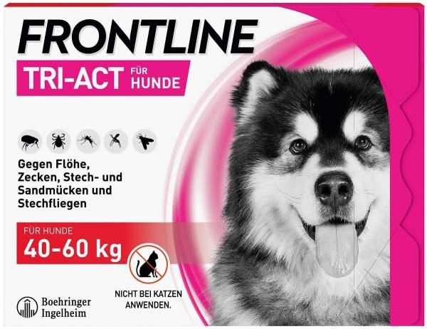 Frontline TRI-ACT Hund 40-60 kg 3 Pipetten