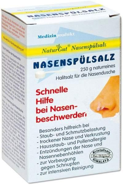Nachfüllpackung Nasenspülsalz Kristallsalz 250g Beutel