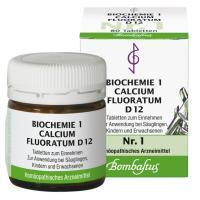 Biochemie 1 Calcium fluoratum D12 - 80 Tabletten