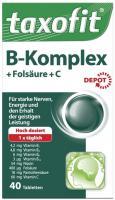 Taxofit B-Komplex + Folsäure + C Depot