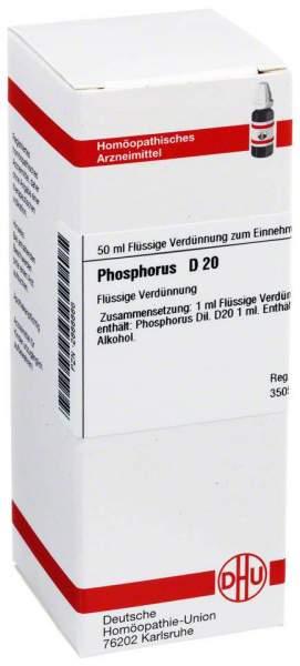 Phosphorus D20 Dhu 50 ml Dilution