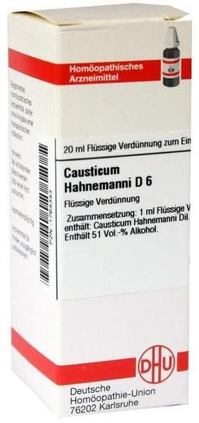 Causticum Hahnemanni D6 20 ml Dilution