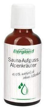Sauna Aufguss 50 ml Konzentrat Alpenkräuter