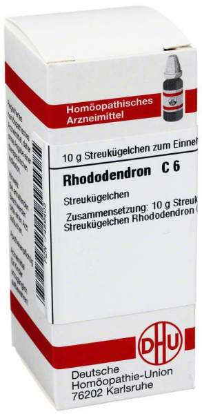 Rhododendron C 6 Globuli