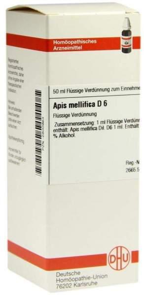 Apis Mellifica D6 Dilution 50 ml Dilution