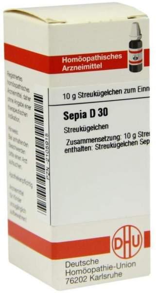 Sepia D 30 Globuli
