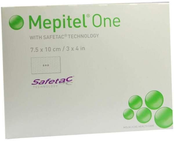 Mepitel One Silikon 10 Netzverbände 7,5 X 10 cm