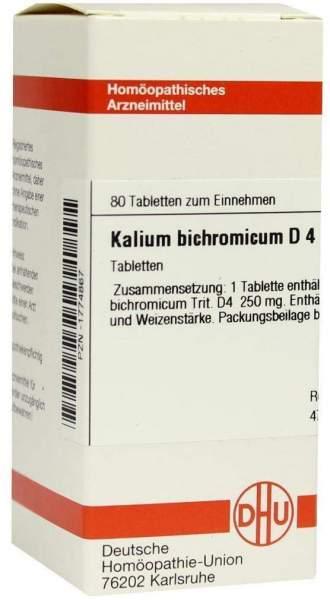 Kalium Bichromicum D 4 80 Tabletten