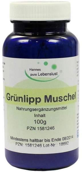 Grünlipp Muschel 100 G Pulver