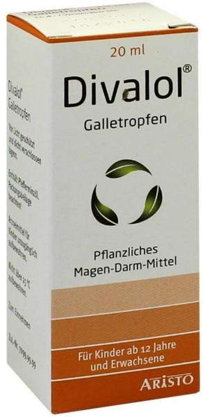 Divalol 20 ml Galletropfen