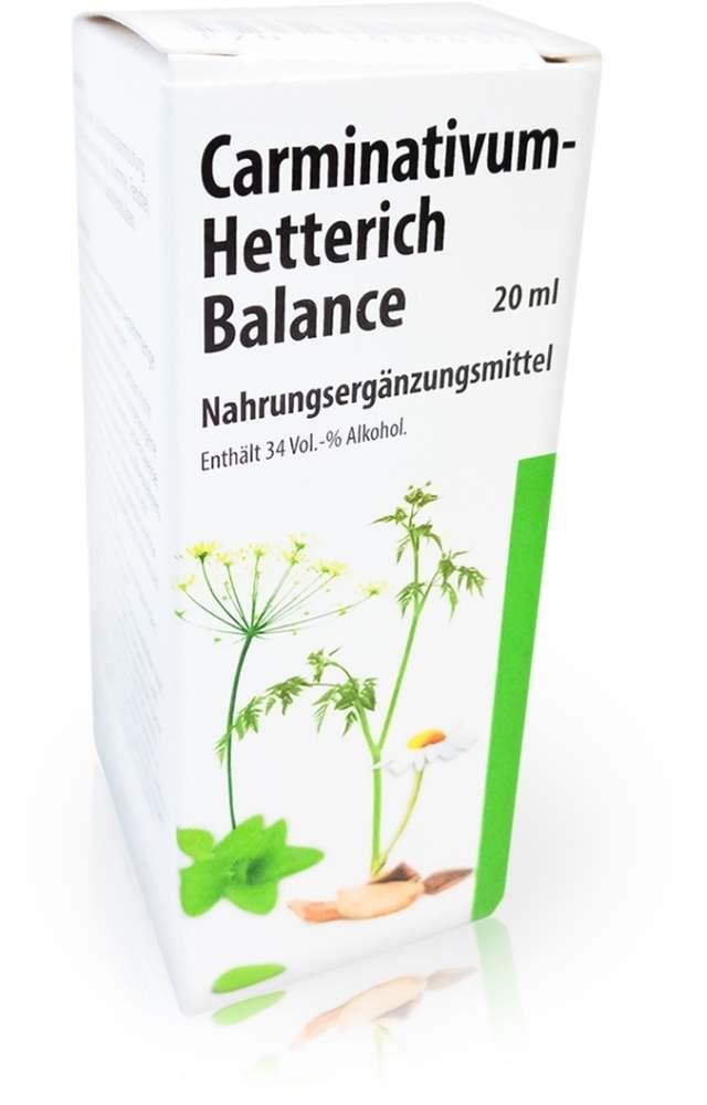 Teofarma s.r.l. Carminativum Hetterich Balance Tropfen Z - 20ml