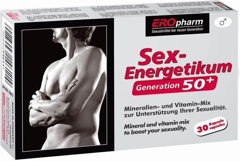 Eropharm Sex Energetikum Generation 50+ 30 Kapseln