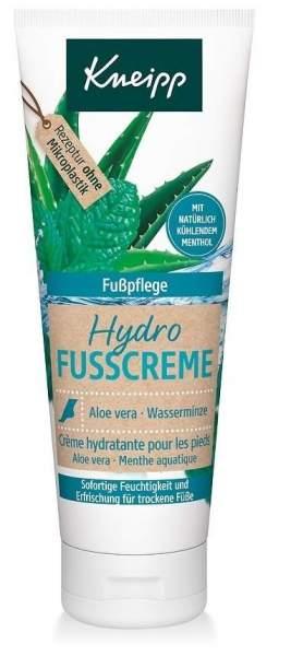Kneipp Hydro Fußcreme Aloe Vera 75 ml