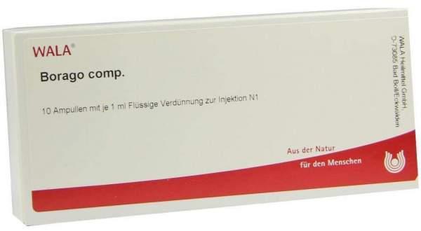 Borago Comp. Ampullen 10 X 1 ml