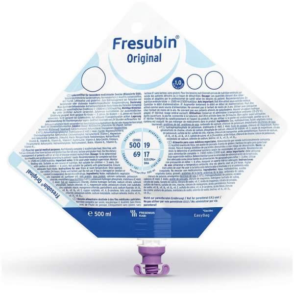 Fresubin Original Easy Bag 5 X 1500 ml Flüssigkeit