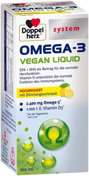 Doppelherz Omega-3 Vegan Liquid system 100 ml