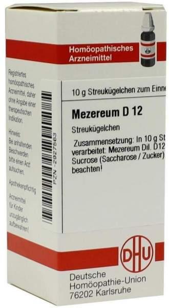 Mezereum D12 10 G Globuli