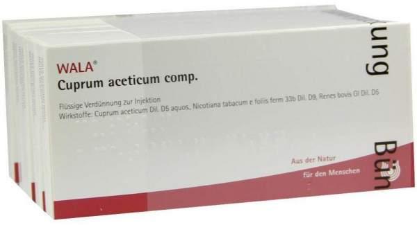 Cuprum Aceticum Comp. 50 X 1 ml Ampullen