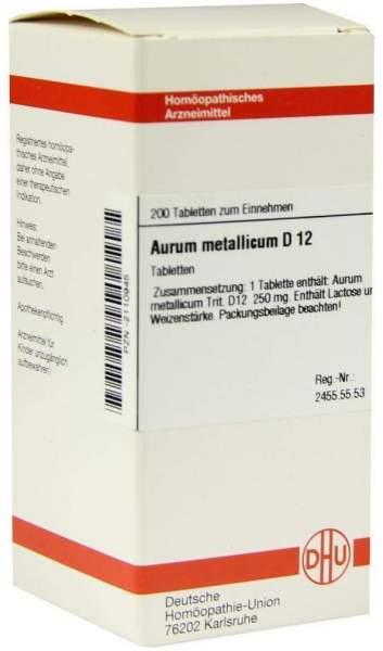 Aurum Metallicum D 12 200 Tabletten
