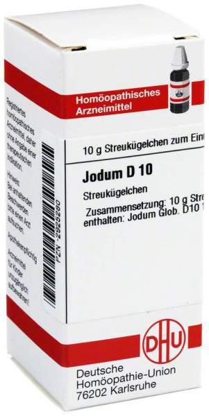 Jodum D 10 Globuli