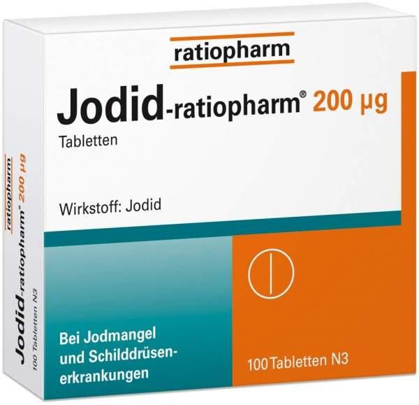 Jodid-ratiopharm 200 µg 100 Tabletten