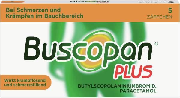 Buscopan plus 5 Zäpfchen
