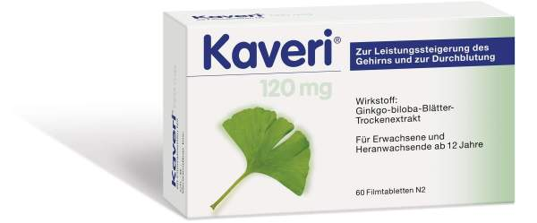 Kaveri 120 mg 60 Filmtabletten