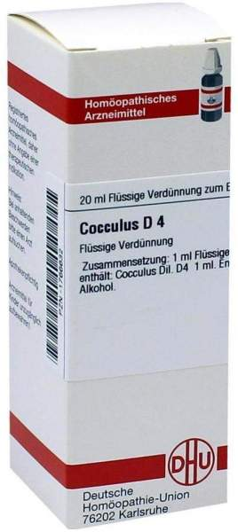 Cocculus D4 20 ml Dilution