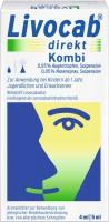 Livocab direkt Kombipackung 4 ml Augentropfen + 5 ml Nasenspray 1 Kombipackung