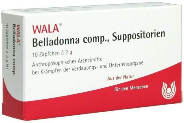 Belladonna Comp. Suppositorien
