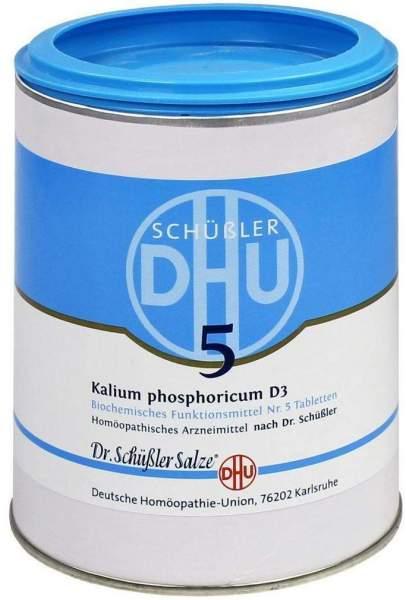 Biochemie Dhu 5 Kalium Phosphoricum D3 1000 Tabletten
