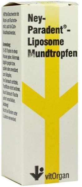 Neyparadent Liposome Mundtropfen 15 ml Lösung