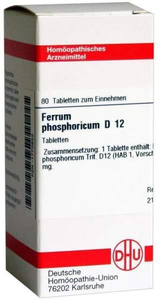 Ferrum Phosphoricum D 12 80 Tabletten