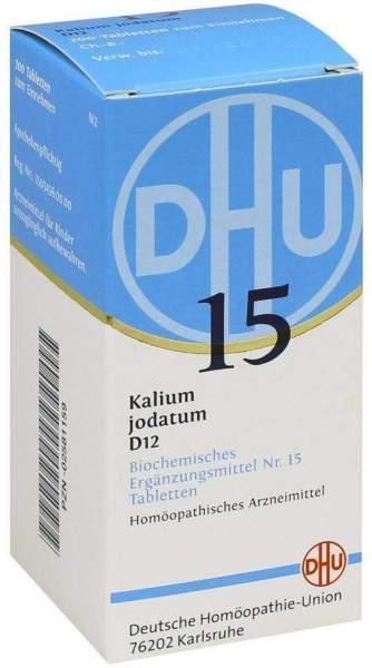 Biochemie Dhu 15 Kalium Jodatum D12 200 Tabletten