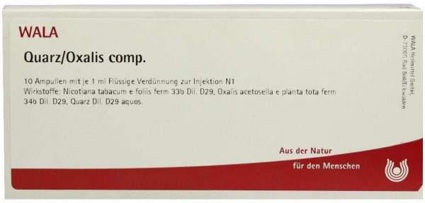 Quarz Oxalis Comp. Ampullen