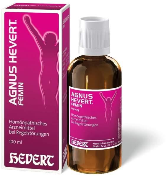 Agnus Hevert Femin Tropfen 100 ml Tropfen