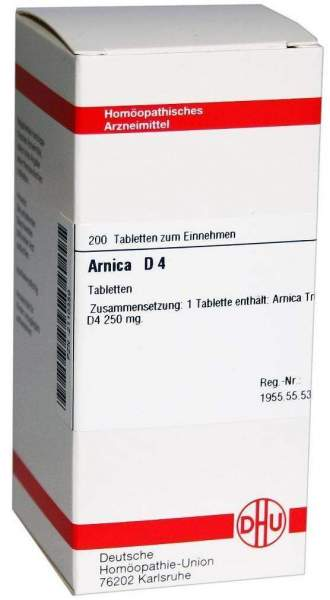 Arnica D4 200 Tabletten