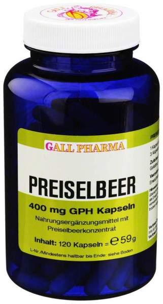 Preiselbeer 400 mg Gph Kapseln