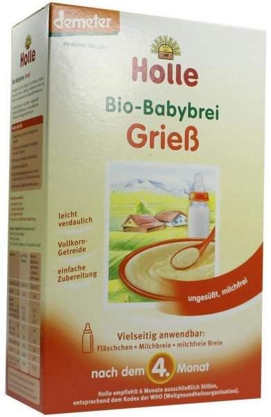 Holle Bio Babybrei Grieß 250 G Brei
