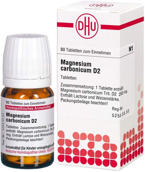 Magnesium Carbonicum D2 80 Tabletten