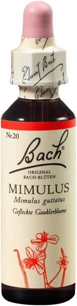 Bachblüten Mimulus 20 ml Tropfen